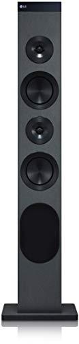 LG RL3 Sistema de Audio para el hogar Torre Negro 30 W - Microcadena (Torre, Negro, Monótono, 30 W, FM,PLL, 87,5-108 MHz)
