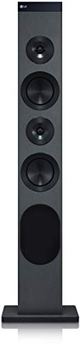 LG RL3 Standlautsprecher mit 130 Watt (Hi-Res Audiowiedergabe, FM Radio, Bluetooth, USB, LG TV Sound Sync) schwarz