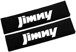 2 Piezas Seguridad Almohadillas Cinturones Para Suzuki JIMNY,AutomóViles Cuero Fibra Carbono Protectores Cuello Hombreras