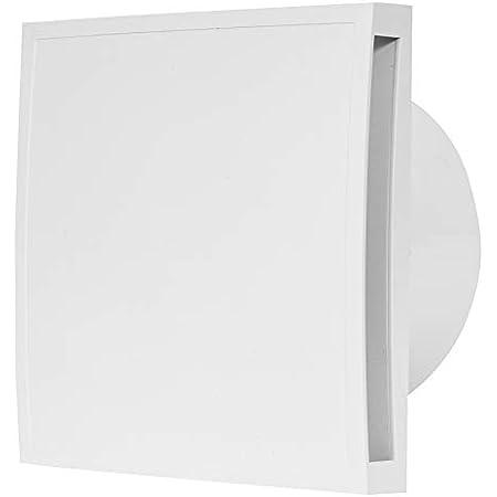 100 mm Durchmesser f/ür effiziente Bel/üftung im Bad wei/ß Bosch Komfort Badl/üfter Fan 1500 DH W 100 mit Feuchtigkeitssensor und einstellbarer Nachlaufzeit