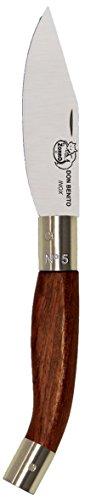Imex El Zorro 51217-i – Couteau Pointe, Couleur Marron, 7 cm