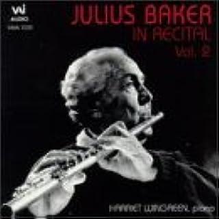 Julius Baker in Recital 2 by Julius Baker (1995-05-18)