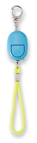 アスカ 防犯ブザー LEDライト付き GE069B ブルー