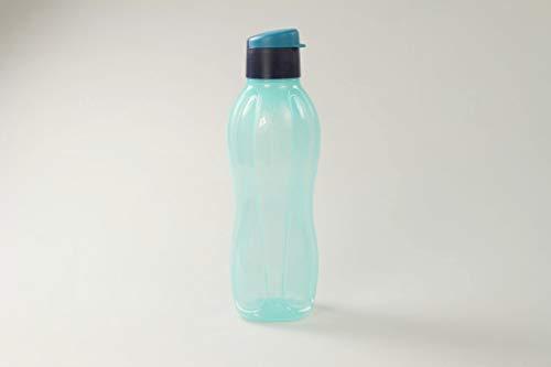 TUPPERWARE Botella Ecológica Click de 750 ml turquesa claro / azul oscuro