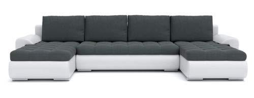 Sofini Ecksofa Tokio III mit Schlaffunktion! Best ECKSOFA! Couch mit Bettkästen! (Cas 574+ Soft 17)