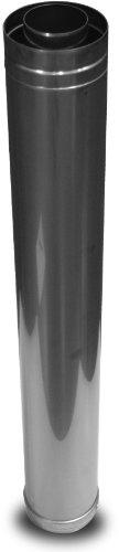 NORITZ cvp-36str Konzentrischer 91,4cm Edelstahl Venting