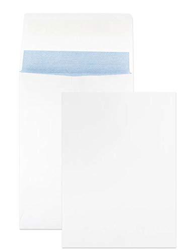 Netuno 125 weiße Faltentaschen DIN C5 162x229 mm 120g Kapazität-Versandtaschen ohne Fenster Falten-Umschläge ausziehbar Briefumschläge mit Seitenfalte Brief-Kuverts mit Falten Geschäftsumschläge