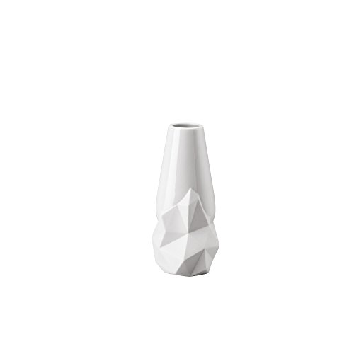 Rosenthal - Studio-Line - Minivase/Vase - Geode - Porzellan - weiß matt - Höhe 12 cm