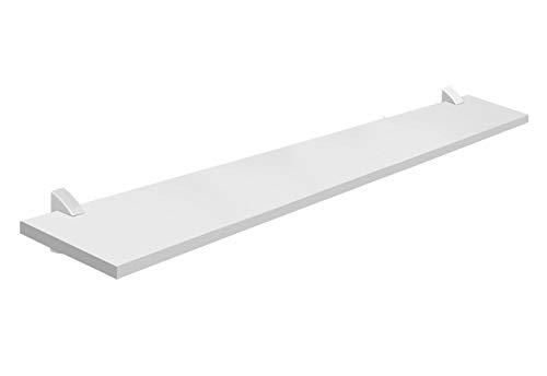 Prat-K Concept Prateleira Reta, Branco, 1.5 X 20 X 100cm
