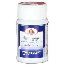 Dhootapeshwar Kaishor Guggul 60 comprimés