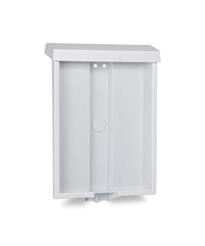 Source One Outdoor Real Estate Style Brochure Holder Color Variety White, Black, Red & Blue Options Available