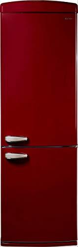 Sharp Refrigerador retro SJ-RA10RMXM3-EU (parte congelador inferior), A+++, altura 190,1 cm, 175 kWh/año, compartimento para verduras OptiFresh con regulación de la humedad, color marrón