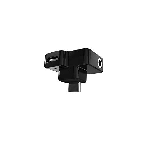 CYNOVA Osmo Action Dual 3.5mm Mic Adapter - Made for Osmo Action with Authorization