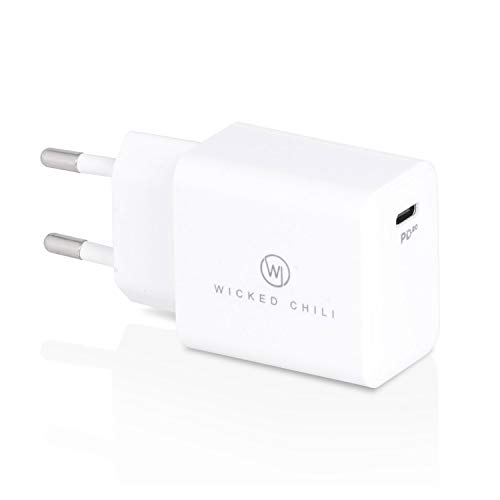 Wicked Chili Cargador USB C 20W Compatible con Magsafe Duo Charger, iPhone...
