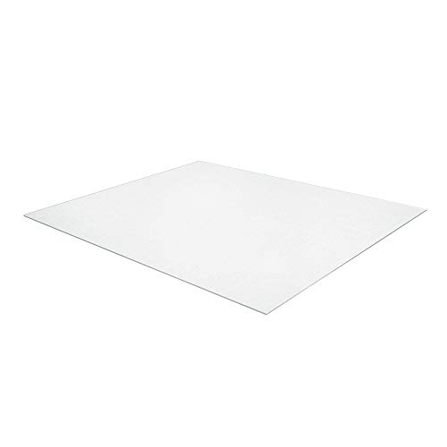 Amazon Basics Polycarbonate Office Chair Mat for Hard Floors, Large - 59 x 79-Inch, Clear