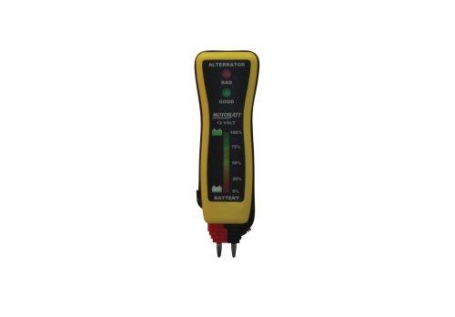 Review MotoBatt MBVM Pocket Voltmeter Tester for 12V Battery and Charging System