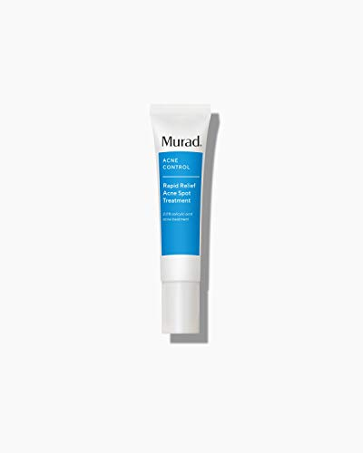 Murad Rapid Relief Acne Spot Treatment with 2% Salicylic Acid - Maximum Strength Invisible Gel Spot Solution for Fast Acne Relief That Reduces Blemish Size and Redness Within 4 Hours