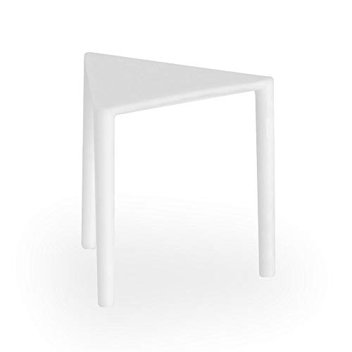 Dixie Plastic Pizza Tabletop, Pizza Saver, Pizza Box Table, PP3C, (Case of 1,000), White