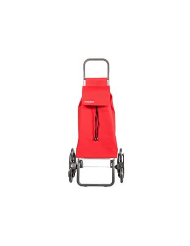 Rolser Carro Saquet LN 6 Ruedas Sube Escaleras - Rojo
