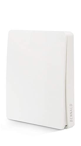 Interruttore Luce Senza Fili Wireless Interruttore Telecomando Remoto, Interruttore da MuroTelecomandato Impermeabile IP67 a parete per Illuminazione Domestica 80M Nessun Cablaggio No WiFi App