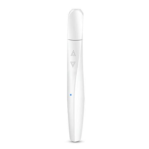 YOBAIH Penna Stile Mini Scarabocchio Penna 3D Belli ABS Pen Stampa 3D Freddo for la Scuola Gadget creatività Regali di Compleanno 3D Penna Stampa (Color : Pearl White)
