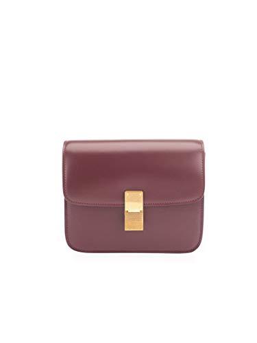 Céline Luxury Fashion Donna 192523DLS28BD Bordeaux Pelle Borsa A Spalla | Autunno-inverno 20