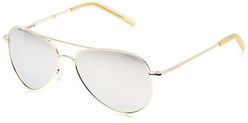Polaroid Unisex-Erwachsene Pld 6012/N Jb J5G 56 Sonnenbrille, Gold (Gold/Greyilmir)