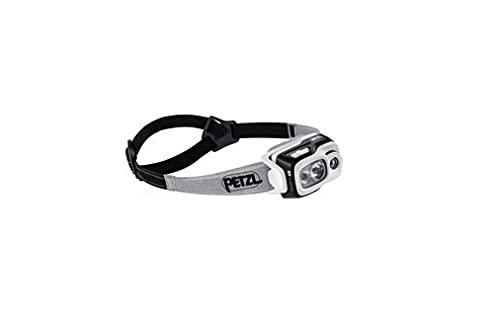 Petzl SWIFT RL - Linterna (Linterna con cinta para cabeza, Fruta del bosque, Gris, IPX4, LED, 1 lámpara(s), 900 lm)
