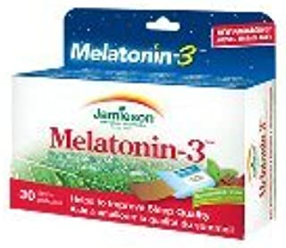Amazon.com: Melatonin-3-30 strips Brand: Jamieson Laboratories: Health & Personal Care