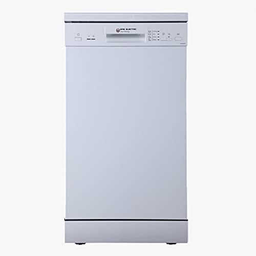EAS ELECTRIC SMART TECHNOLOGY | Lavavajillas 45 cm | EMD09W2-V1 | E/A++ | 9 servicios - cubiertos | Blanco | 4 Programas | Bajo consumo 70 kWh/ciclo