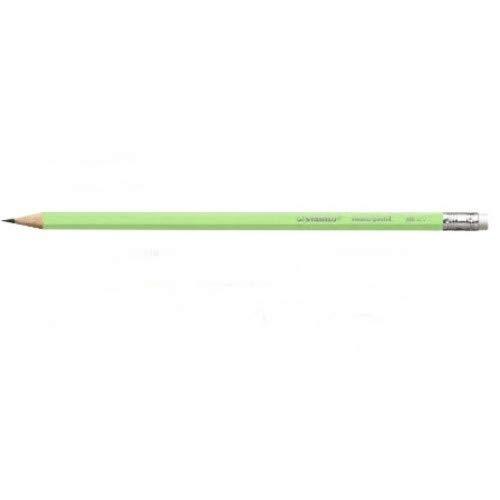 Lápis Preto Swano Pastel Corpo Verde - Stabilo Stabilo, Verde, pacote de 12