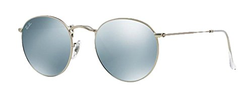 RB 3447 Sunglasses (Silver Frame Mirror Silver Lens, Silver Frame Mirror Silver Lens)