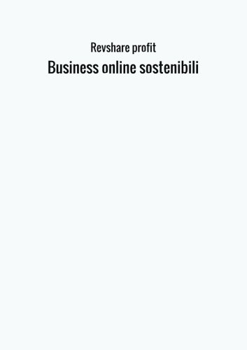 Business online sostenibili