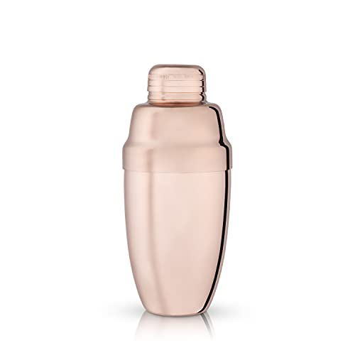 Viski True Fabrication Summit-Copper Heavyweight Cocktail Shaker, 17 oz