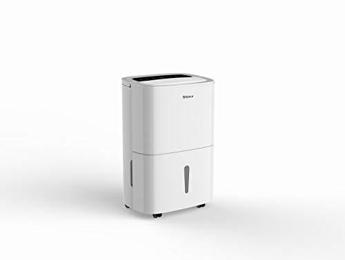 HANTECH Luftentfeuchter 20L in 24h Enffeuchtung - Raumgröße ca. 100m³ (~40m²) Digitalanzeige, Timer - Anti Schimmel, Feuchtigkeit