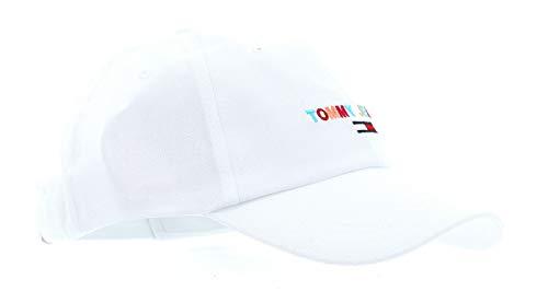 Tommy Hilfiger Damen Tjw Sport Embroidered Baseball Cap, Weiß (Classic White Ya2), One Size (Herstellergröße: OS)