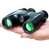 USCAMEL Compact Binoculars for Kids and Children, Adults Bird Watching,Lightweight Compact Hours Brigh (10x-26B)