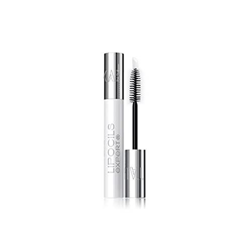 Talika Lipocils Expert Gel für Wimpernwachstum und Pigmentierung - Natürliche Wimpernpflege für dunkle, volle Wimpern - Lash Booster mit Bürste + Schaumstoff Applikator - 10 ml