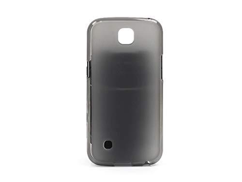 etuo Handyhülle für LG K3 LTE (K100) - Hülle FLEXmat Hülle - Schwarz - Handyhülle Schutzhülle Etui Hülle Cover Tasche für Handy