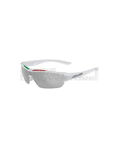 Salice 011 ITA photochromiques RW groene zonnebril unisex volwassenen, wit