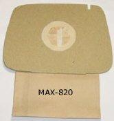 MAX-820, 2-Lagen-Staubsaugerbeutel 10 Stück, ELECTROLUX - L1, 201017800, für Lux 1 Classic - Lux 1 Royal Staubsaugerbeutel von Maxhit unter anderem für ELECTROLUX Typ: D 820, und andere