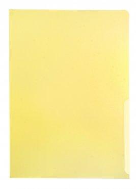 Sichthüllen A4 PP-Folie 160 my glatt transparent gelb - 100 Stück