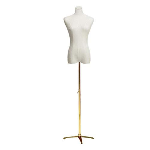 GuoWei Schneiderpuppen, Modell Damenbekleidungsgeschäft Halber Körper Modellständer Damenbekleidungsgeschäft Brautgeschäft Full Dress Shop Zwei Größen (Color : A, Size : S)