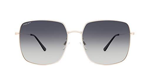 Polar OID - Gafas de sol polarizadas para hombre y mujer, vintage, unisex, retro, camilla, color 02/F