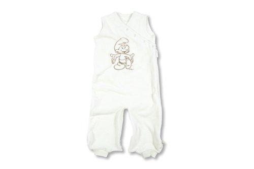 Baby Boum Baby Jungen Schlafsack Weiß milchweiß 9 Monate