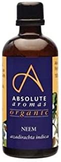 Absolute Aromas Aceite de Neem BIO 100ml - Puro, Orgánico, Natural, Prensado en Frío, Vegano