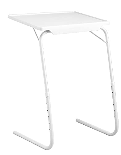 Jocca - Mesa Auxiliar Plegable Sofá Salón | Mesa con altura Regulable | Mesas Plegables Pequeñas | Ahorro de Espacio
