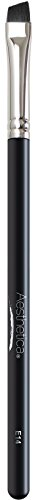 Aesthetica Pro Series Angled Eyeliner Brush - Tapered for Use with Liquid, Gel, Cream and Powder Eye Liner - Vegan and Cruelty Free