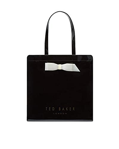 Ted Baker Women's Almacon Bow Detail Large Icon Bag (Black)
