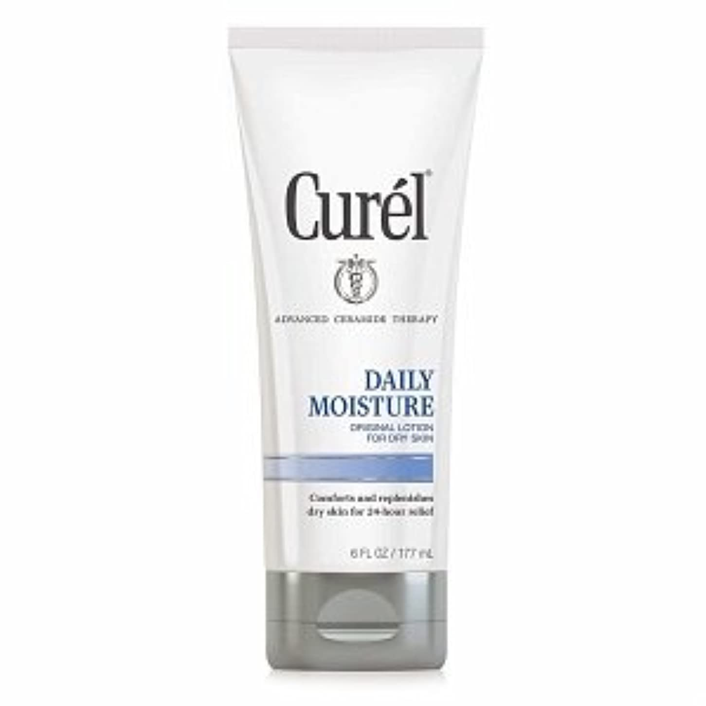 正気不幸ちっちゃいCurel Daily Moisture Original Lotion for Dry Skin - 6 fl oz (177 ml)